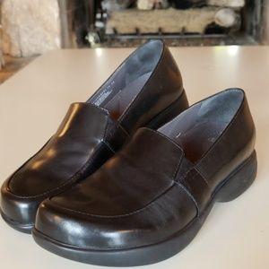 Dansk Black Loafers